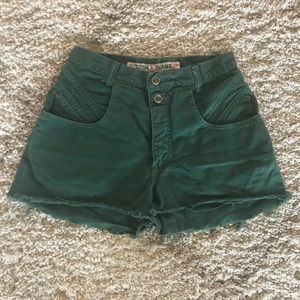 Pants - Vintage Women's high wasted short